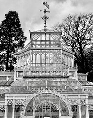(Kathi Huidobro) Tags: architecturaldetail londonbuildings conservatory foresthill monochrome blackwhite bw architecturalphotography londonarchitecture victorianarchitecture london southlondon glasshouse architecture hornimanmuseum