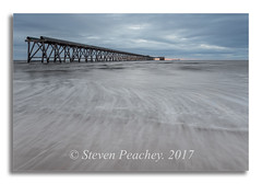 After The Light Had Gone (Steven Peachey) Tags: seascape morning 2017 sunrise beach sky sea water clouds pier hartlepool exposure light tide coast coastline northeastcoast northeastengland steetleypier ef1740mmf4l canon6d canon lee09gnd leefilters manfrotto stevenpeachey lightroom