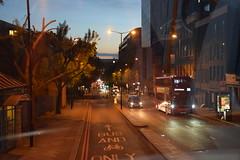 DSC_9331 London Bus Route #205 Kings Cross Early Evening (photographer695) Tags: london bus route 205 kings cross early morning evening
