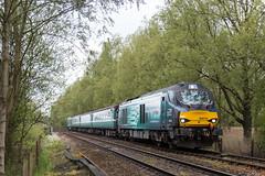 68018 / 68003 - Bungalow Lane - 2J70 (Class313) Tags: drs direct rail services class 68 68018 68003 2j70 short set