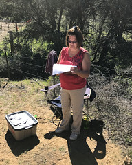 063 Our Wonderful Starter (saschmitz_earthlink_net) Tags: 2017 california orienteering campscherman girlscoutcamp sanbernardinonationalforest sanjacintomountains laoc losangelesorienteeringclub