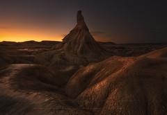Recuerdos del desierto (sgsierra) Tags: bardenas reales desert arguedas navarra spain sunset castil landscape