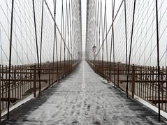 Fearful (Blizzard) Symmetries #16 (Keith Michael NYC (2 Million+ Views)) Tags: brooklynbridge manhattan brooklyn newyorkcity newyork ny nyc