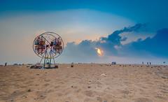 Joy (Srini GS) Tags: chennai marina beach sea bayofbengal mychennai boat shores birds