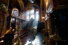 Seeking Divine Light (setoboonhong ( On and Off )) Tags: sun rays divine light our lady kazan church irkutsk russia travel