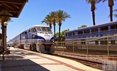 2014-07-13 Fullerton CA AMTK459 F59PHi (gravelydude1966) Tags: railroad locomotive emd f59phi amtrak amtk459 passenger commuter fullerton california surfliner