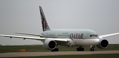 A7-BCO Qatar dreamliner  J78A0208 (M0JRA) Tags: manchester airport planes jets flying aircraft a7bco qatar dreamliner