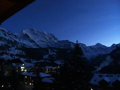 ...bOnsOir... ... ... (project:2501) Tags: wengen jungfrauregion suisse switzerland snow ski travel hotel hotelbelvédère hotelroom artnouveau 1912 view aroomwithaview balcony theviewfromhere evening dusk twilight bluelight blue bluebleu bleu sunset inthemountains mountains mountain rock pinetrees alpinefauna wengen1274m jungfrau4158m silberhorn3695m breithorn3782m tschingelhorn3557m