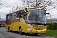 TW15DCW  Travel Wright, Newark (highlandreiver) Tags: tw15dcw tw15 dcw travel wright coaches newark mercedes benz tourismo bus coach gretna green scotland scottish