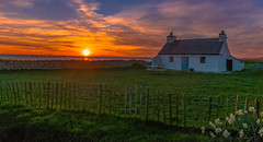 Quaint... (L A H Photography) Tags: cottage building architecture pretty quaint landscape landscapes landscapephotography anglesey cablebay sunset sunsets beautiful love colours dreamy magical wales sky serene scene scenic tranquil vista nikon nikond300 beautifulexpression orange pink