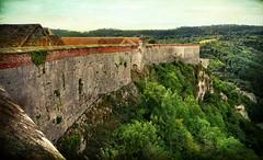 Les remparts de la Citadelle (.Sophie C.) Tags: besançon 25 doubs franchecomté france citadelle citadelledebesançon fortifications remparts vauban pse15 photoshopelements15 texture lenabem