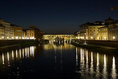 Ponte Vecchio Florencia (benito.anon) Tags: florence firenze florencia ponte vecchio puente puestadesol sunset river rio arno