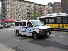 NYPD Chevy Express