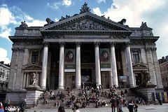 La Bourse, Bruxelles (Lцdо\/іс) Tags: brussels bruxelles belgique monnaie théatre theater théâtre belgium belgie capital architecture building antic antique historic historique city citytrip lцdоіс
