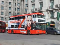 Arriva London - LT493 - LTZ1493 - Rimmel (Waterford_Man) Tags: arrivalondon hybrid wrightbus nrm lt493 ltz1493 rimmel
