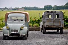 Les 2cv camionnettes... (CitroenAZU) Tags: citroen 2cv azu au