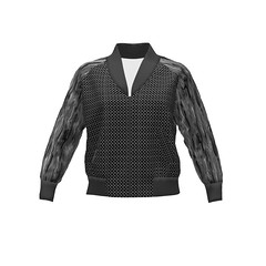 Rigel Bomber #SAGE - Chainmaille Armour and Liquid Grey Marble Bomber Jacket by #Linda_Baysinger_Peck and #maryyx Sprout Patterns (mom_de_bomb) Tags: sage surfaceartistsguildofexcellence fabricaddict sewing sew textiledesign sproutpatterns spoonflower thedailyseam sprout pdfpattern indiedesigners sewingpattern patterns isew fabric surfacedesign textiles