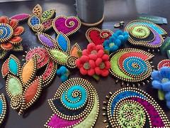 Busy Sunday... (woolly  fabulous) Tags: wool pin brooch felt woollyfabulous zipper