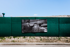 false.memory.syndrome (jonathancastellino) Tags: toronto architecture fence board photo photography mount mounted archive archival curb leica q sky hill dirt mound hoarding construction rcharris plant water filtration queen east street