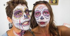Oaxaca Day of the Dead Celebration face paint