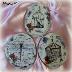 IMG_3359 (mariapapadopoulou77) Tags: decoupage wood coaster