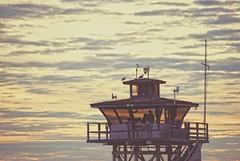 I always feel like somebody's watching me.... (Joe Hengel) Tags: socal southerncalifornia sunset sanclemente seaside seashore sanclementepier theoc orangecounty oc outdoor evening eveninglight eveningskies watchingthesunset pier guardtower goldenstate california ca cloudsorangecounty clouds cloudy ialwaysfeellikesomebodyswatchingme tower lifeguard watching seagulls seagull