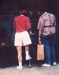 b-01-2 - AFO Short Leg Brace (jackcast2015) Tags: handicapped disabledwoman crippledwoman shortleg shortlegwoman leg braces woman legbraces