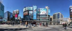 Dundas Square (superdavebrem77) Tags: panorama toronto dundassquare