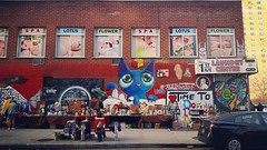 First & Second (phillytrax) Tags: nyc ny newyork newyorkcity 212 718 manhattan city urban usa america unitedstates metropolis metropolitan instagram bigapple eastvillage mural wallart brickwall fleamarket streetart graffiti instagramapp square squareformat iphoneography uploaded:by=instagram sierra