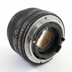 Fuji Photo Film, X-Fujinon 50 mm FM f:1,9 (Japon) (Cletus Awreetus) Tags: photographie fuji fujiphotofilm xfujinon objectif lens vintage standard 50mm