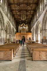 St Davids Cathedral main aisle (Graham Dash) Tags: pembrokeshire stdavids stdavidscathedral cathedrals interiors