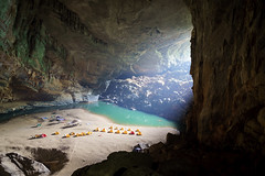 Camping (nex-matt) Tags: sony a6000 alpha6000 nature camping vietnam sel1670z zeiss travel hdr cave tent tents lake caving sunbeam