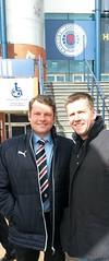 With Graeme Murty (plewsr) Tags: graeme murthy rangers manager