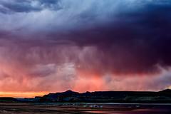 Technicolor Marina (garshna) Tags: sunset clouds boats marina lake mountain arizona lakepowell wahweapbay multipleexposure nikon d750 atmosphere landscape reflection