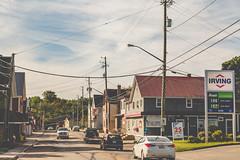 Rue Main - Montague, Prince Edward Island, Canada (Tony Webster) Tags: canada irving mainstreet montague pei princeedwardisland ruemain conveniencestore gasstation ca