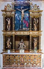 DSC6751 Capilla de la Consolación en la Iglesia del Monasterio de Santa María la Real de Nieva, (Segovia) (Ramón Muñoz - ARTE) Tags: monasterio de santa maría la real nieva alonso berruguete escultura escultor