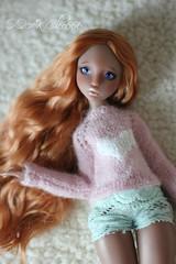 IMG_5714 (Cleo6666) Tags: lana lillycat cerisedolls marron glacé bjd doll chibbi