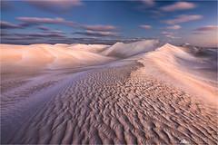 Sandy Meadows (Darkelf Photography) Tags: cervantes western australia sand dunes evening dusk landscape nature clouds pattern nambung nationalpark polariser canon 1635mm 5div maciek gornisiewicz darkelf photography sandymeadows 2017