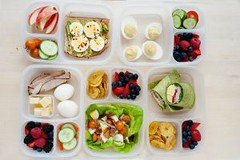5 Healthy School and Office Lunch Ideas with Hard Boiled Eggs (Healthy Fun Fitness) Tags: 5 healthy school office lunch ideas with hard boiled eggs