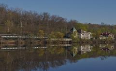 Reflection (chuckh6) Tags: annarbor michigan reflections water