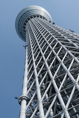 Tokyo Skytree, by Nikken Sekkei, 2012 (Anita Pravits) Tags: aussichtsturm fernsehturm japan nihon nikkensekkei nippon skytree tokio tokyo broadcasttower observationtower watchtower