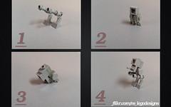 Nano AT-ST Instructions (NS LEGO Designs) Tags: nslegodesigns lego moc creation build instructions breakdown guide building walker vehicle microscale nanoscale atst starwars roy floremheim