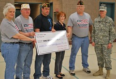 2013 R.O.S.S. Donation 01 (NDNG) Tags: army military navy event nationalguard northdakota nd donation airforce fundraiser fargo vfw guardsman wilz familysupport navalreserve weible westfargo familyreadinessgroup ndguard