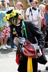 Clerical Error Morris Man (McShug) Tags: green canon jack sussex may 7d hastings morris drummers bogie pagan jackinthegreen