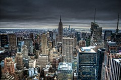 Top of The Rock by Noon - New York - NY ( Gabriel Franceschi) Tags: new york gabriel rock nikon top sigma center 1750 rockefeller f28 hdr the of franceschi d300s