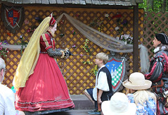 Queens Knighting Ceremony  Tennessee Renaissance Festival 2013 (oldsouthvideo) Tags: music green castle festival musicians costume video memorial day tn tennessee queen fairy knights taylor knight faire troll swift fairies renaissance ik triune gwynn arrington knighting 2013