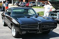 1969 Pontiac GTO (osubuckialum) Tags: cars car nc triangle gm northcarolina raleigh cary carshow 2013 tarheeltigers raleigharea