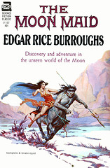 The Moon Maid (McClaverty) Tags: illustration paperback sciencefiction pulp edgarriceburroughs roykrenkeljr