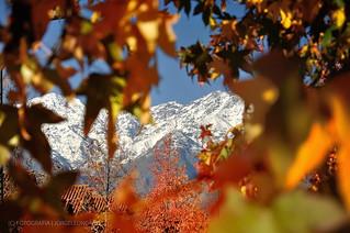 Cordillera de los Andes - Santiago de Chile