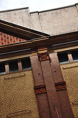 DSC_2234 [ps] - Capital Frieze (Anyhoo) Tags: red texture window yellow wall architecture facade tile terracotta render capital sydney australia nsw newsouthwales faade gable cornice anyhoo photobyanyhoo